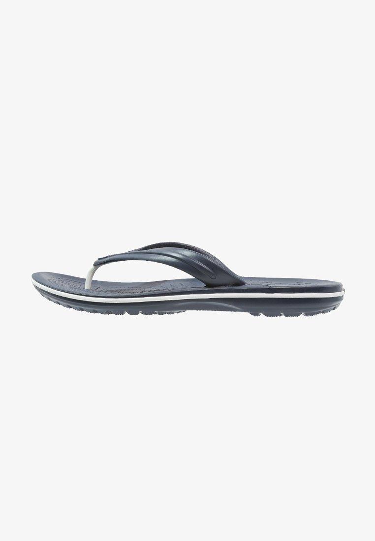 Crocs - CROCBAND FLIP UNISEX - Chanclas de dedo - navy