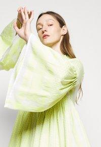 CECILIE copenhagen - SOUZARICA - Day dress - avocado green - 3