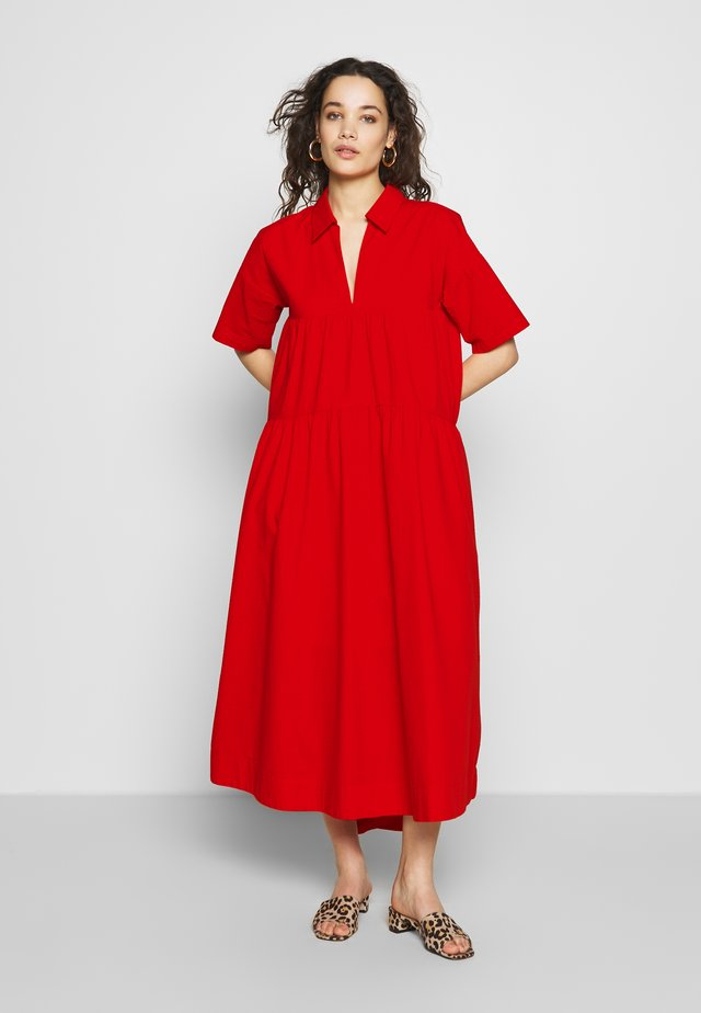 NOVA DRESS - Maxi dress - scarlet red