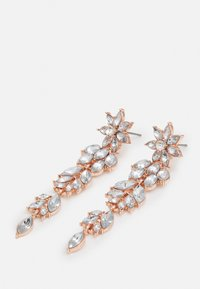 Pieces - PCLAY EARRINGS - Kolczyki - rose gold-coloured/clear - 2