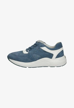 Sneakers laag - blue/white