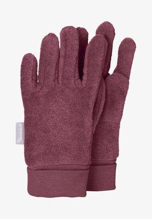Gloves - mottled pink