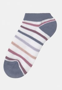 Abercrombie & Fitch - ANKLE 5 PACK - Socks - off-white - 1