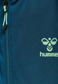 Hummel - ACTION - Zip-up hoodie - blue coral green ash - 4