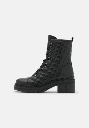 JONKO - Šněrovací kotníkové boty - black