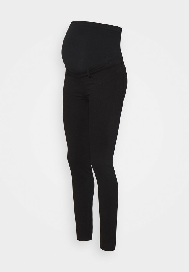 NEO SEAMLESS - Jeggings - black