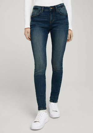 Jeans Skinny Fit - stone wash denim