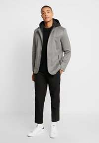 Piazza Italia - GIACCONE - Light jacket - grey - 1