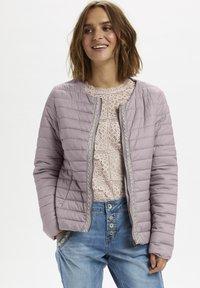 Cream - CREAM  - Light jacket - light pink - 0