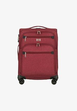 Wheeled suitcase - rot