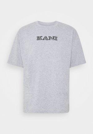RETRO TEE - T-Shirt print - ash grey