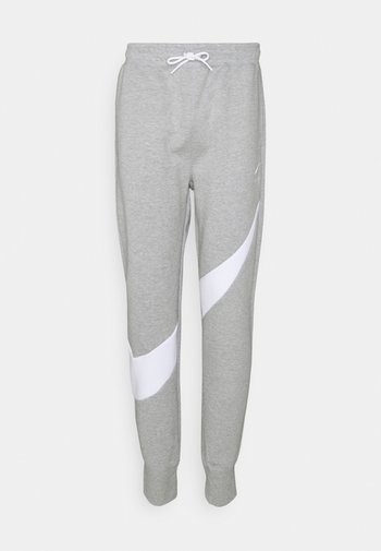 Pantaloni sportivi - grey heather/white