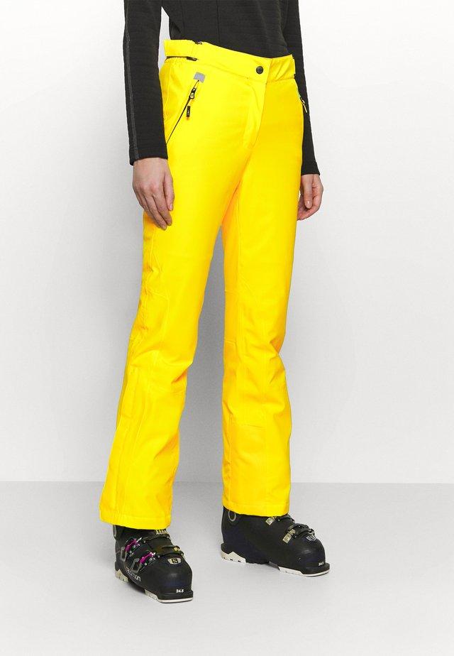 WOMAN  - Schneehose - yellow