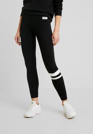 SPORTY LOGO FLEGGING - Leggings - Trousers - black