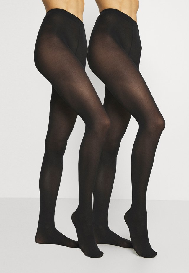 TIGHTS 40DEN 2PACK - Tights - black