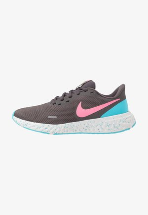 REVOLUTION 5 - Neutral running shoes - thunder grey/digital pink/blue fury/silver lilac/vast grey/laser orange
