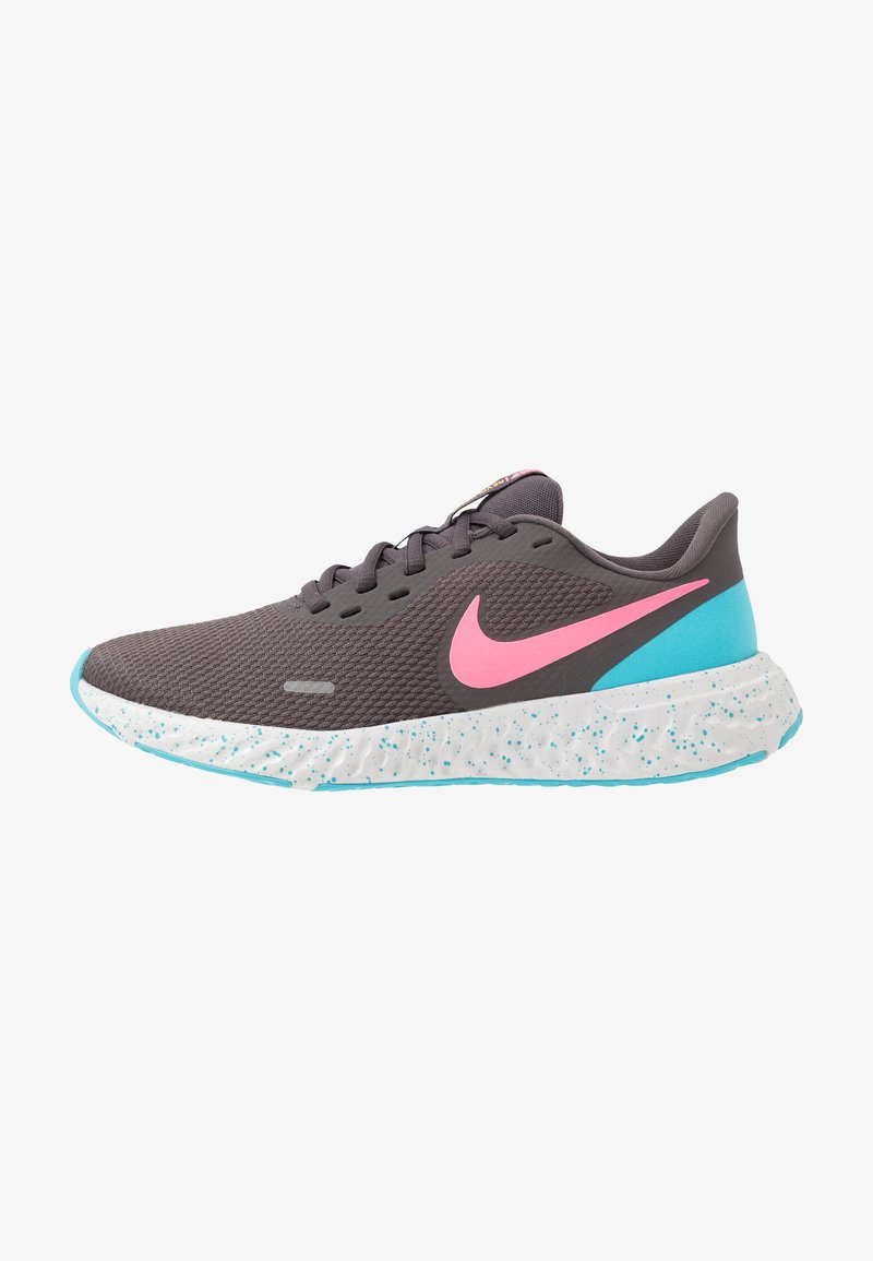 Nike Performance - REVOLUTION 5 - Obuwie do biegania treningowe - thunder grey/digital pink/blue fury/silver lilac/vast grey/laser orange