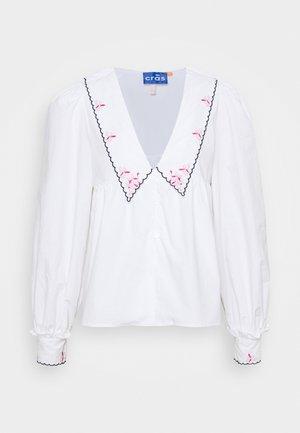 NAYACRAS BLOUSE - Button-down blouse - white