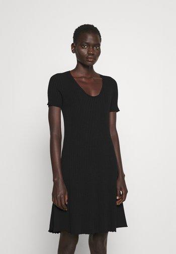 ABITO IN MAGLIA  - Jumper dress - nero