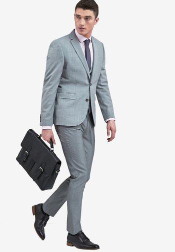 STRETCH TONIC SUIT: JACKET-SLIM FIT - Suit jacket - light grey