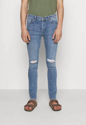 CHASE - Slim fit jeans - ripple light blue ripped