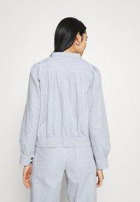 Dedicated - JACKET JUNGBY THIN STRIPE - Summer jacket - blue - 2
