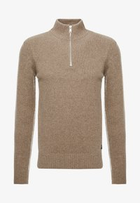 Marc O'Polo - TROYER ZIPPER - Jumper - sepia tint - 3
