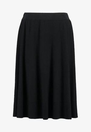 ESSENTIAL - A-line skirt - black