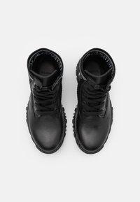 Versace - LOGATA - Lace-up ankle boots - black - 3