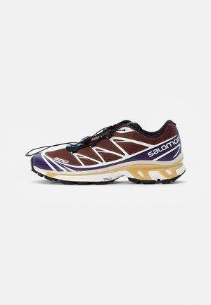 XT-6 - Sneakers - black/grape/chocolate fondant
