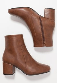 Anna Field - Bottines - cognac - 3