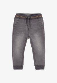 Next - RIB WAIST - Relaxed fit jeans - grey - 0