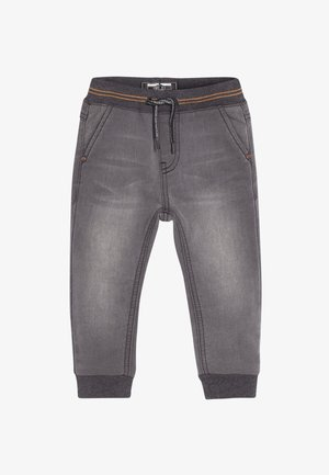 RIB WAIST - Relaxed fit jeans - grey