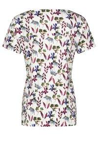 Taifun - Print T-shirt - offwhite gemustert - 4