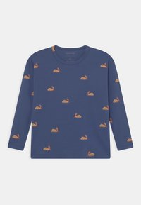 TINYCOTTONS - UNISEX - Long sleeved top - soft blue/toffee - 0