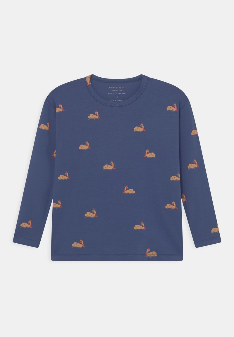 TINYCOTTONS - UNISEX - Long sleeved top - soft blue/toffee