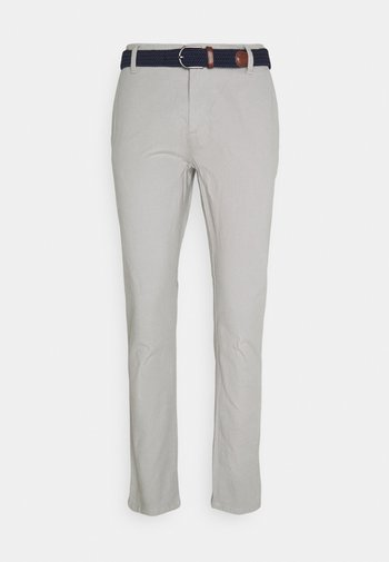 LAZANO - Kangashousut - light grey