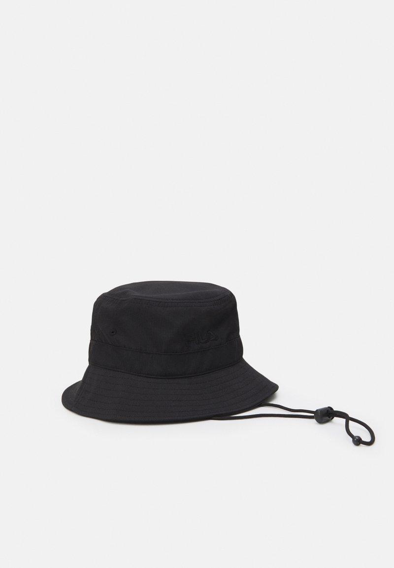 Fila - BUCKET HAT HERITAGE TAPELIGHT WEIGHT FISHERMAN HAT UNISEX - Sombrero - black