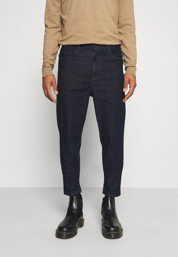 Burton Menswear London DAD RINSE WASH - Jeansy Zwężane - blue/granatowy Odzież Męska DPQM