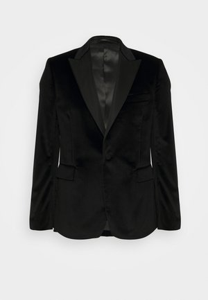 TAILORED FIT EVENING JACKET - Suit jacket - black