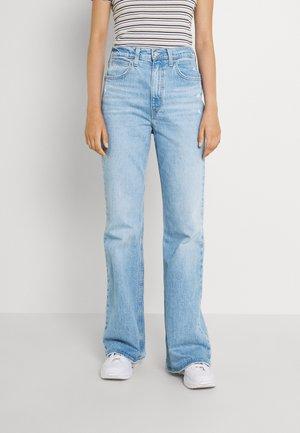 70S HIGH FLARE - Široké džíny - marin babe