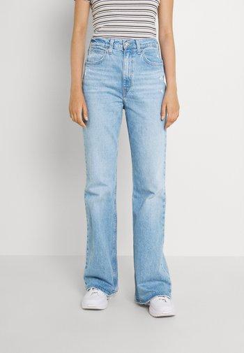 70S HIGH FLARE - Jeans a zampa - marin babe