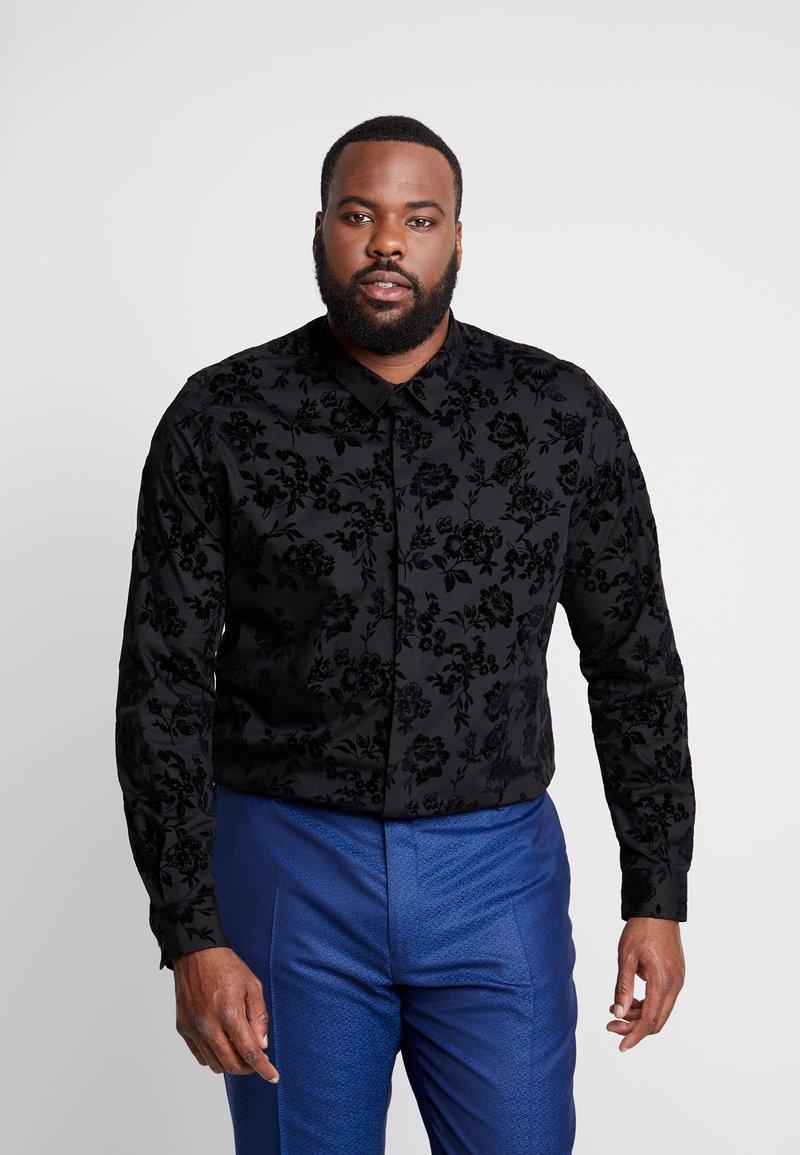 Twisted Tailor - KATRIN FLORAL  - Camicia elegante - black