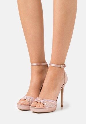 WICOETHIEL - Platform sandals - light pink