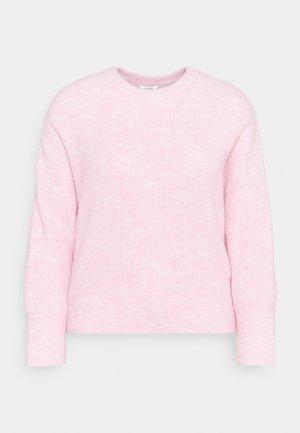 GILLIAN - Jumper - begonia pink melange
