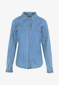 Scalpers - Button-down blouse - blue - 4