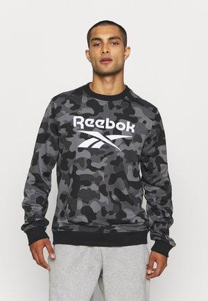 CAMO CREW - Sweatshirt - black