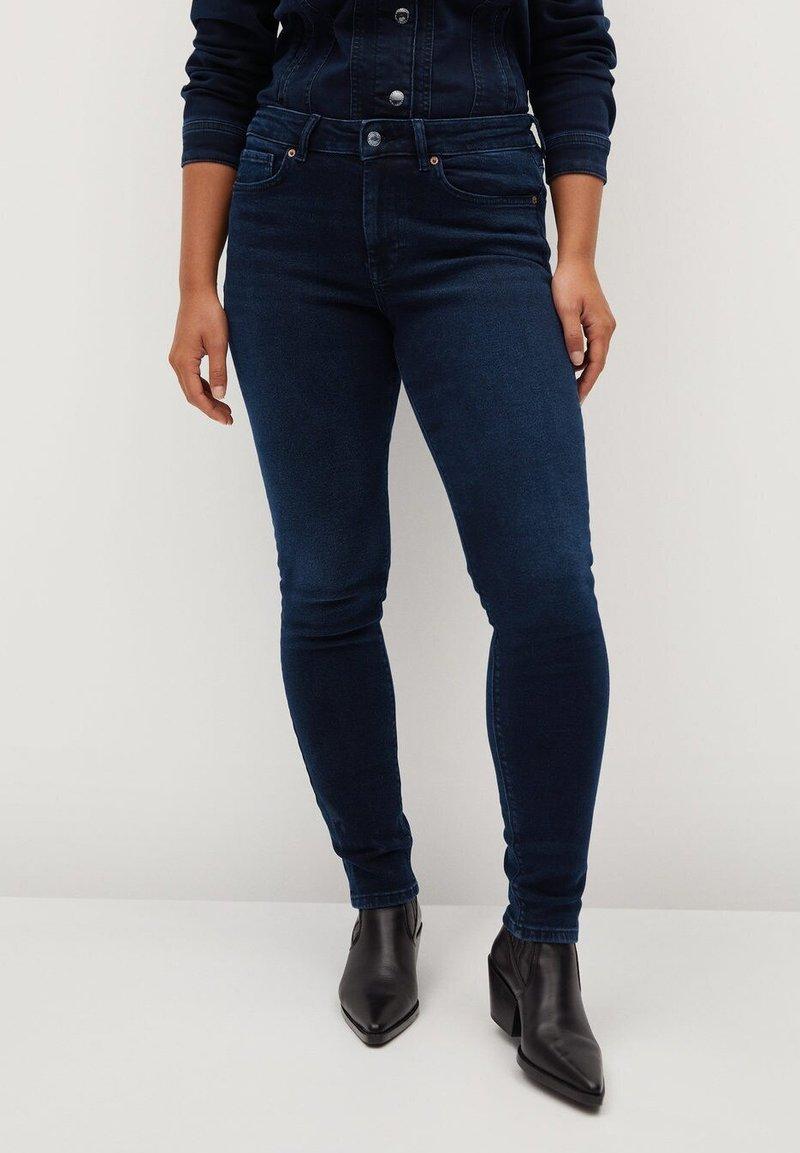 Violeta by Mango - SOFIA - Jeans Skinny Fit - intensives dunkelblau