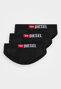 Diesel - UNDERPANTS 3 PACK - Slip - black - 3