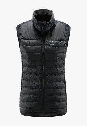 SPIRE MIMIC VEST  - Waistcoat - true black
